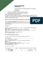 Diagnose Cardinality Errors in Explain Plan