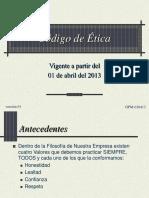Código de Ética.ppt
