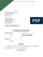 Telebrands v. Nite Ize - Complaint
