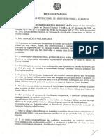 Edital SEE Nº 02-2018 - Certificação Ocupacional de Diretor de Escola Estadual