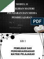 MODUL 11 pengembangan kurikulum.pptx