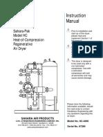67289 - HC-4000 - Air Dryer Instruction Manual