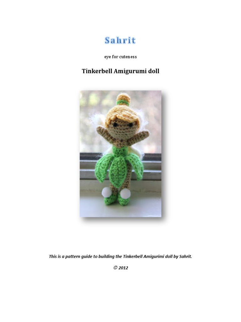 Super Cute Tinkerbell Crochet Projects | Crochet dolls free ... | 1024x768