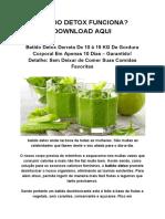Batido Detox Funciona? Download Aqui