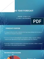 Fairfield Schools 5-Year Forecast