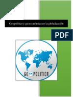 Monografia de Geoeconomia