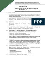 Especificaciones Tecnicas Suministro Lp Rp - Tacna