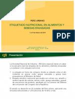 Opnac Etiqueta Saludable Peru 201803