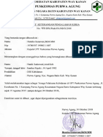 Format Monitoring Pasien Selama Rujukan