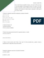 Examen Daniella 19 Julliol 2014
