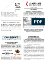 Bulletin Supplement October 28 2018 PDF
