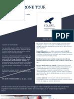 Sea Sail Drone Tour Presentation My Sail Croisiere Mediterranee