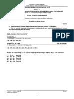 Bac2015 Limba Engleza Scris Model Barem