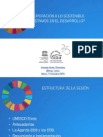 Presentacion Ods Sinope 2018-Unesco Etxea