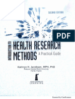 Introduction to Health Research Methods jacobsen