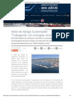 """Molo de Abrigo Sustentable_ """"Trabajando Con Energías Renovables"""" - Armada de Chile"""