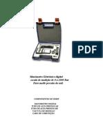 Manômetro Eletrônico Digital