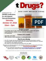 Bucks County Drug Take Back Day Flyer
