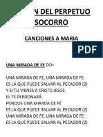 Cancion Fiesta Virgen Perpetuo Socorro