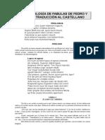 Antologa Fedro Con Traduccin 2012