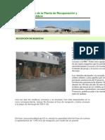 Funcionamiento de La Planta de Recuperación y Compostaje de Albox