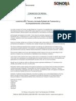 06-10-2018 Culmina SEC Tercera Jornada Estatal de Formación y Acompañamiento a Docentes