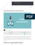 Why Image Optimization is Important for SEO