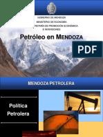Areas Petroleras - Provincia de Mendoza