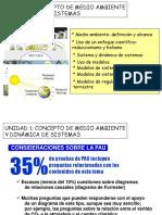CONCEPTO DE MEDIO AMBIENTE Y DINÁMICA DE SISTEMAS