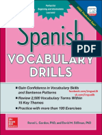 Spanish Vocabulary Drills Final