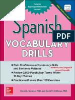 Spanish Vocabulary Drills Final