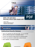 Critical cybersecurity