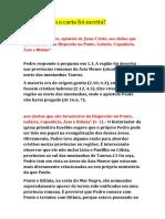 Estudo 1 Pedro