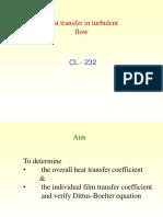 Heat Transfer in Turbulent Flow