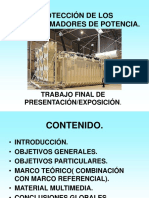 Proteccion de Los Transformadores de Pot