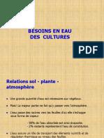 Besoins en Eau Des Cultures Ppt
