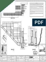 plano de modulación de muro