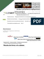 Receta de Arroz a la cubana - Karlos Arguiñano