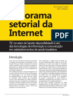 Panorama Sectorial da Internet