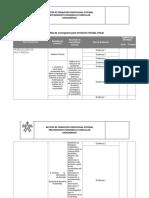 Plantilla Cronograma de Actividades en Formacion Titulada