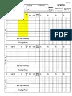 Form Daftar Obat
