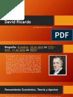 David Ricardo