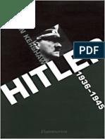 Kershaw, Ian - [Nemesis 1] - Hitler_ 1936-1945 Némésis (2-08-212529-7)