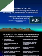 taller Manejo del estrés colaboracióYilisbeth(PSICOPATOLOGIA 2009).ppt