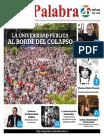 LA PALABRA. Año 26, No. 298.  Santiago de Cali, Noviembre del 2018
