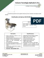 Cotizacion Equipo de Proceso Quinua