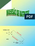 ISEP20182aula8 Inversao Matriz