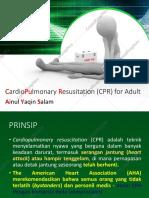 CardioPulmonary Resusitation (CPR).pptx