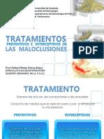 RAFAEL OCHOA ALEJOS Tratamientos Preventivos e Interceptivos de Maloclusiones 2017-2