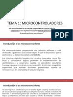Diferencia Entre Microcontrolador y Microprocesador.